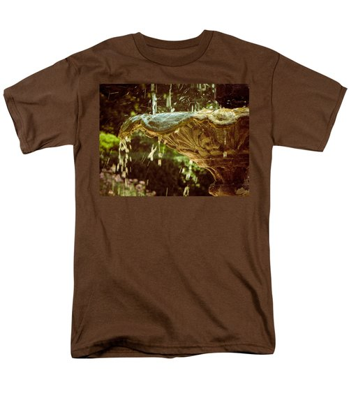 The Fountain Men's T-Shirt  (Regular Fit) by Jessica Brawley