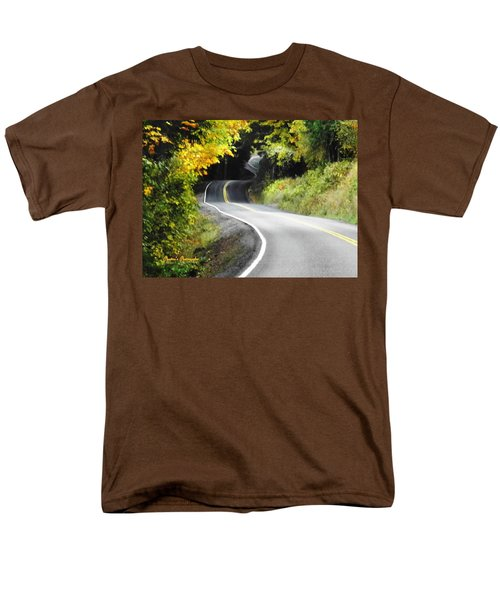 The Low Road Men's T-Shirt  (Regular Fit) by Sadie Reneau