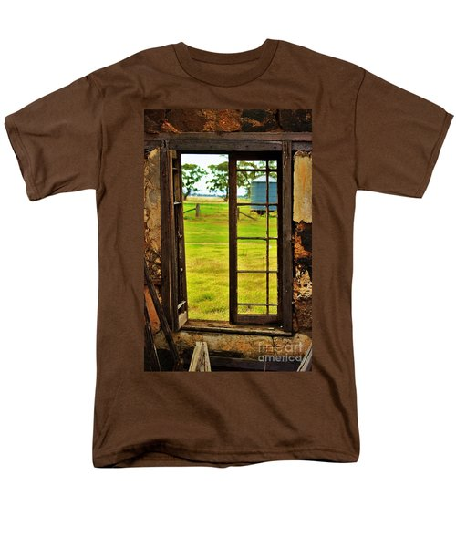 Men's T-Shirt  (Regular Fit) featuring the photograph The View From Within by Blair Stuart