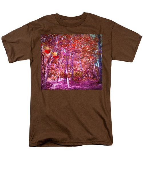 Men's T-Shirt  (Regular Fit) featuring the photograph Thicket In Color by George Pedro