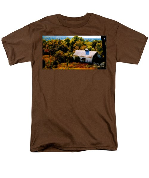 Men's T-Shirt  (Regular Fit) featuring the photograph Touch Of Old Country by Peggy Franz