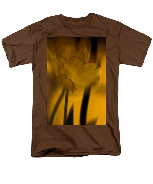 Men's T-Shirt  (Regular Fit) featuring the photograph Tulip Abstract by Ed Gleichman