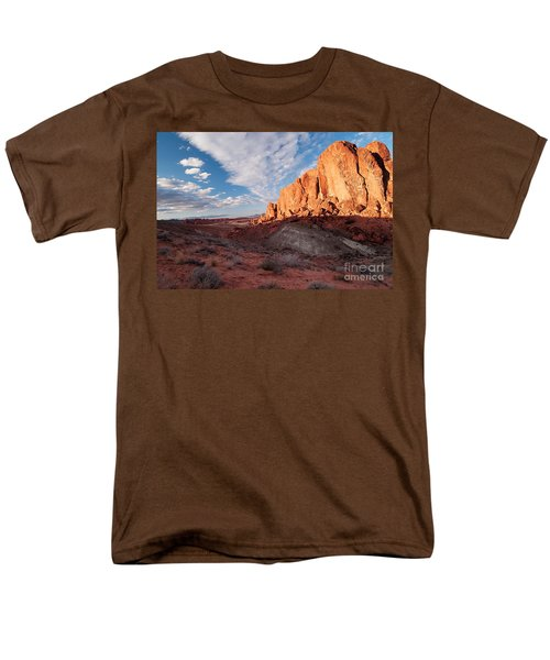 Men's T-Shirt  (Regular Fit) featuring the photograph Valley Of Fire by Art Whitton