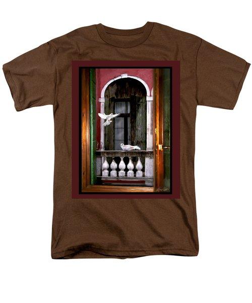 Venice Window Men's T-Shirt  (Regular Fit) by Diana Haronis