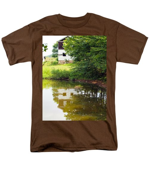 Water Reflections Men's T-Shirt  (Regular Fit) by Robert Margetts
