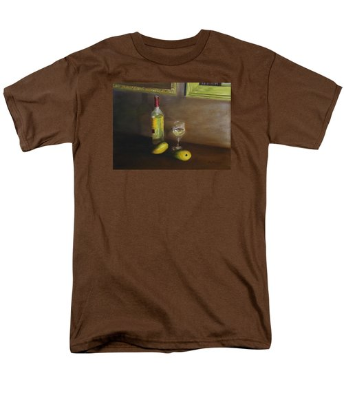 White Wine And Mangoes Men's T-Shirt  (Regular Fit) by Alan Mager