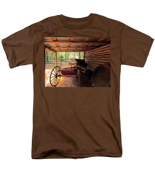 Yesterday Men's T-Shirt  (Regular Fit) by Judy Wanamaker