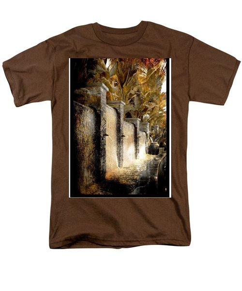 Flowing Waterfall  Men's T-Shirt  (Regular Fit) by Athala Carole Bruckner