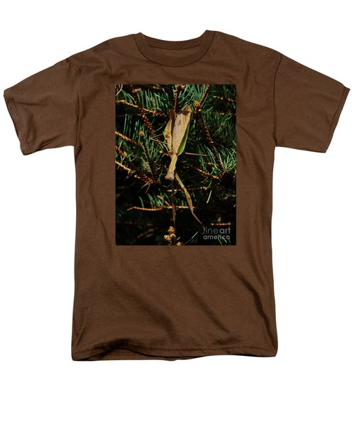 Men's T-Shirt  (Regular Fit) featuring the photograph  Hanging Mantis  by J L Zarek