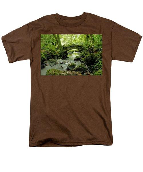 Kilfane Glen  Men's T-Shirt  (Regular Fit) by Martina Fagan
