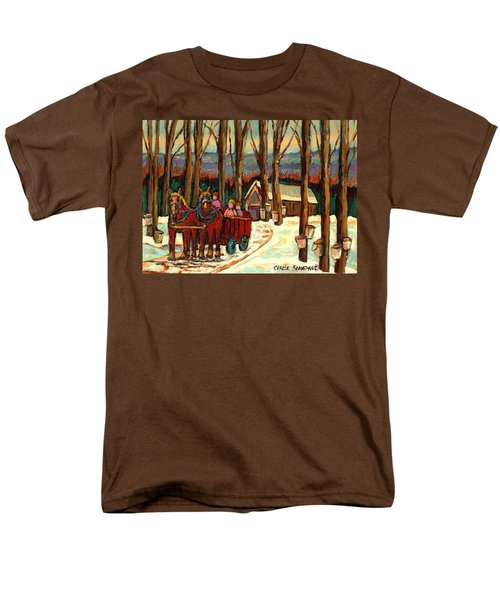 Sugar Shack Men's T-Shirt  (Regular Fit) by Carole Spandau