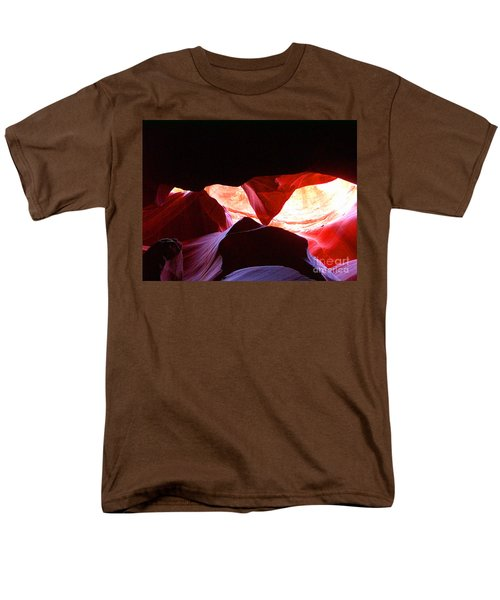 Antelope Slot Canyon - Astounding Range Of Colors Men's T-Shirt  (Regular Fit) by Merton Allen