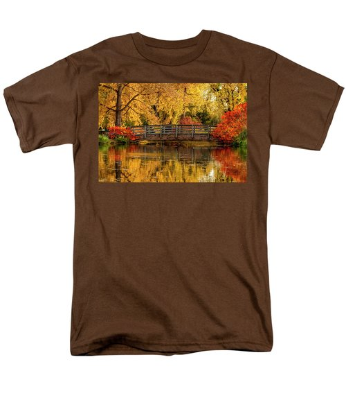 Autumn In The Park Men's T-Shirt  (Regular Fit) by Teri Virbickis
