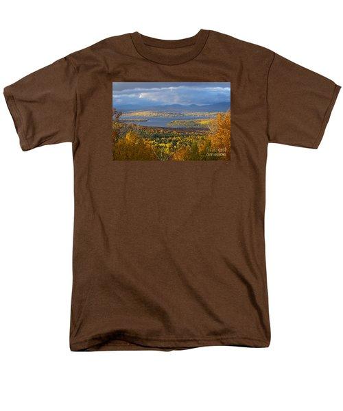 Autumn Splendor Men's T-Shirt  (Regular Fit) by Alana Ranney