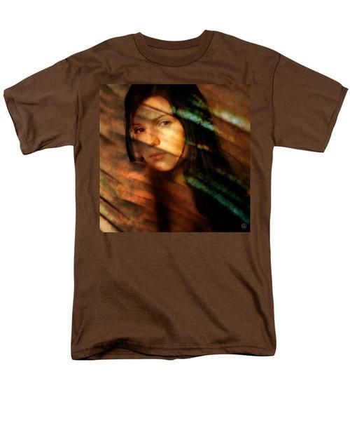Behind The Curtain Men's T-Shirt  (Regular Fit) by Gun Legler