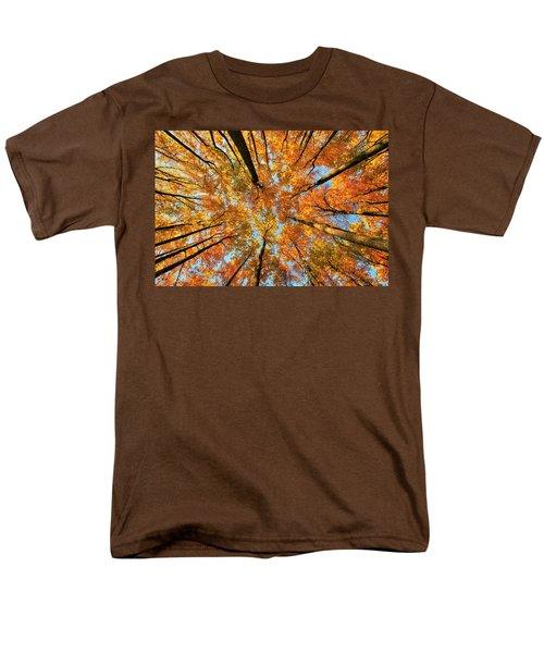 Beneath The Canopy Men's T-Shirt  (Regular Fit) by Edward Kreis