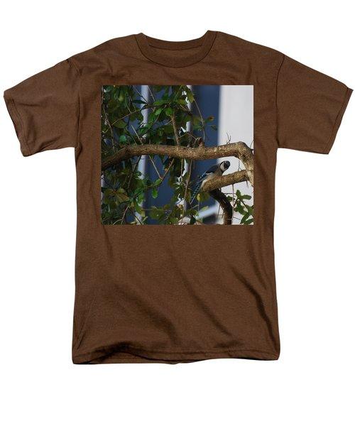 Men's T-Shirt  (Regular Fit) featuring the photograph Blue Bird by Rob Hans