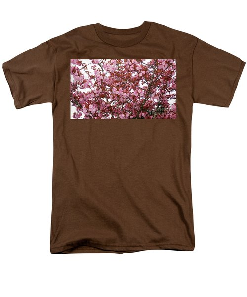Men's T-Shirt  (Regular Fit) featuring the photograph Cherry Blossoms  by Victor K
