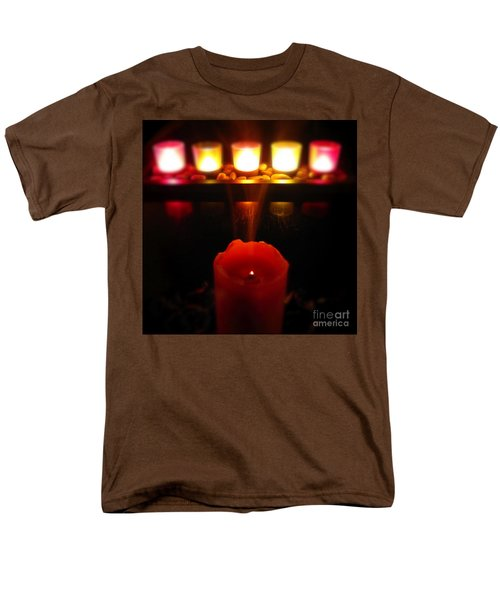 Color In Lights Men's T-Shirt  (Regular Fit) by CML Brown