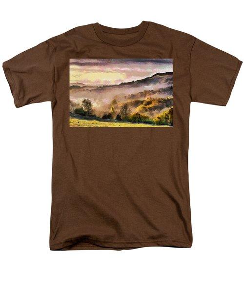 Men's T-Shirt  (Regular Fit) featuring the digital art Colors Of Autumn by Gun Legler