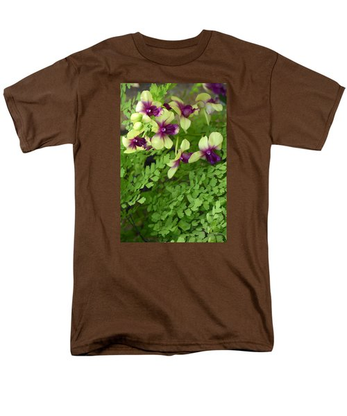 Contrasts Men's T-Shirt  (Regular Fit) by Deborah  Crew-Johnson