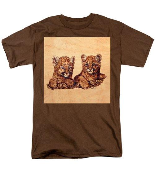 Cougar Cubs Men's T-Shirt  (Regular Fit) by Ron Haist