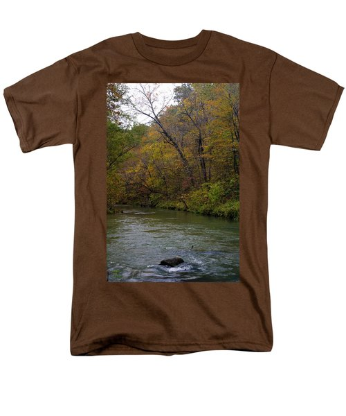 Current River 8 Men's T-Shirt  (Regular Fit) by Marty Koch