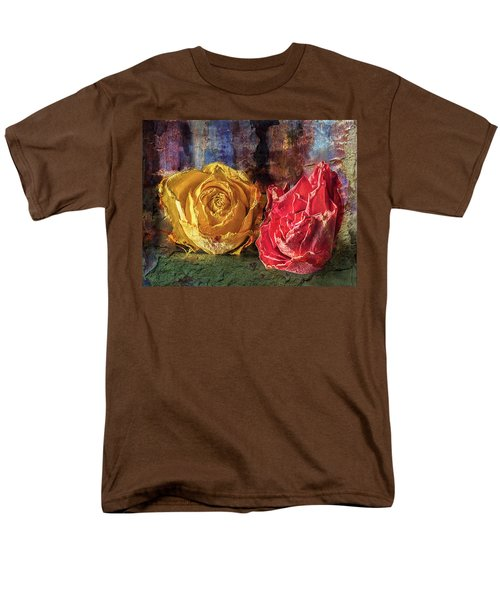 Faded Flowers Men's T-Shirt  (Regular Fit) by Vladimir Kholostykh
