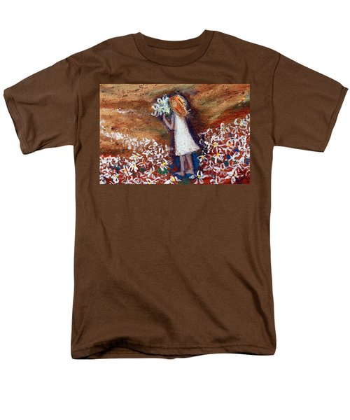Field Of Flowers Men's T-Shirt  (Regular Fit)