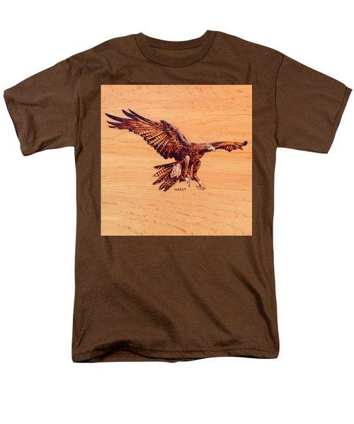 Golden Eagle Men's T-Shirt  (Regular Fit) by Ron Haist