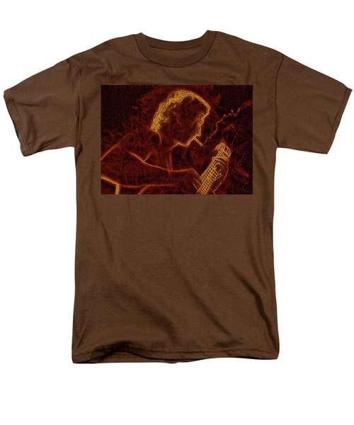 Guitar Player Men's T-Shirt  (Regular Fit) by Alex Galkin