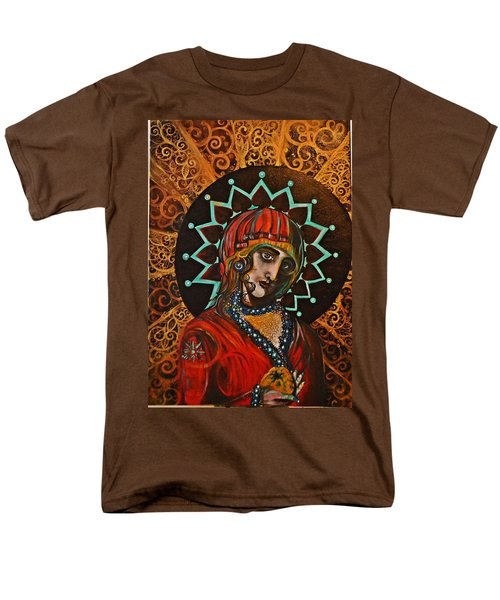 Lady Of Spades Men's T-Shirt  (Regular Fit) by Sandro Ramani