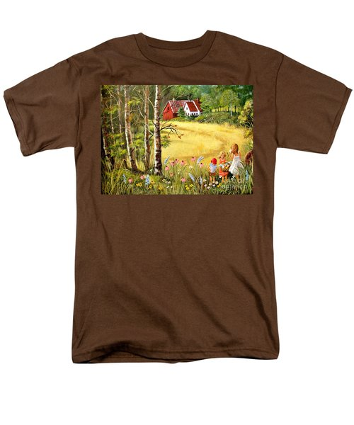 Memories For Mom Men's T-Shirt  (Regular Fit) by Marilyn Smith