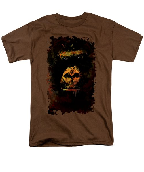 Men's T-Shirt  (Regular Fit) featuring the photograph Mighty Gorilla by Jaroslaw Blaminsky