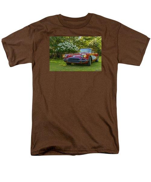 My 1960 Corvette Men's T-Shirt  (Regular Fit) by Ken Morris