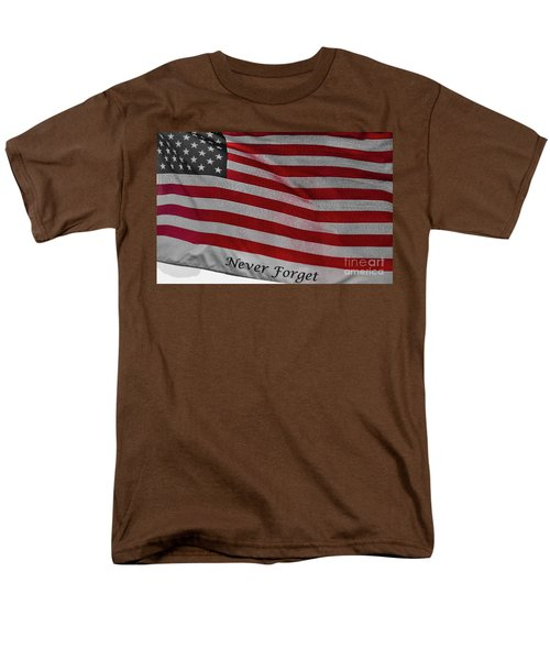 Men's T-Shirt  (Regular Fit) featuring the photograph Never Forget by Jim Lepard