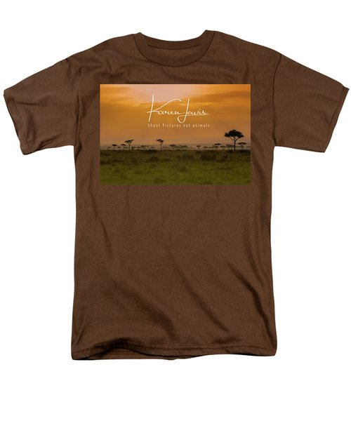 Men's T-Shirt  (Regular Fit) featuring the photograph New Day On The Mara by Karen Lewis