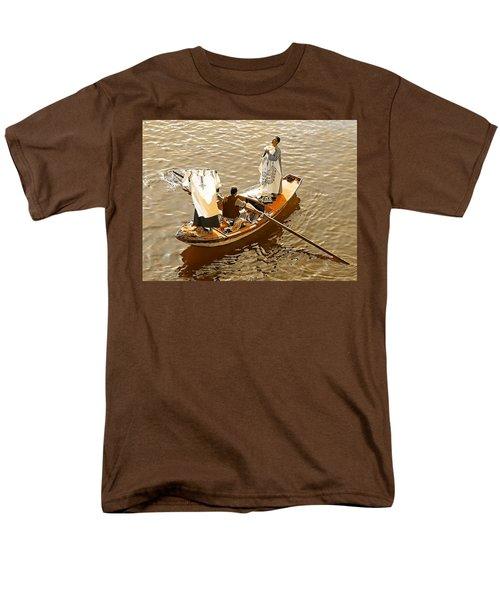 Nile River Merchants Men's T-Shirt  (Regular Fit) by Joseph Hendrix