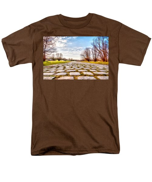 Olimpia Park - Munich Men's T-Shirt  (Regular Fit) by Sergey Simanovsky