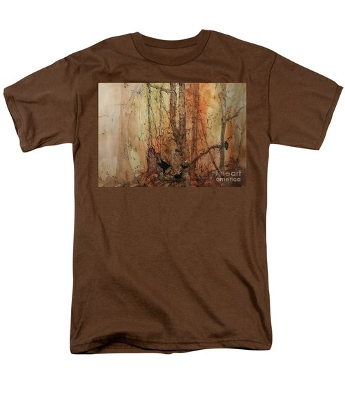 Men's T-Shirt  (Regular Fit) featuring the painting on the Verge by Elizabeth Carr