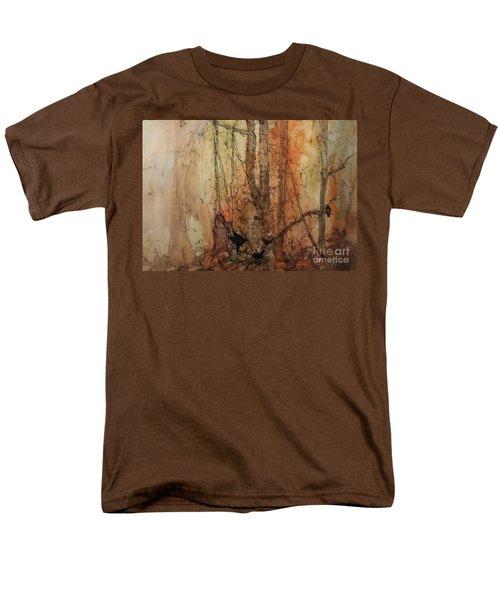 on the Verge Men's T-Shirt  (Regular Fit) by Elizabeth Carr