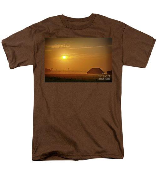 Outer Banks Memories 3 Men's T-Shirt  (Regular Fit) by Dan Carmichael