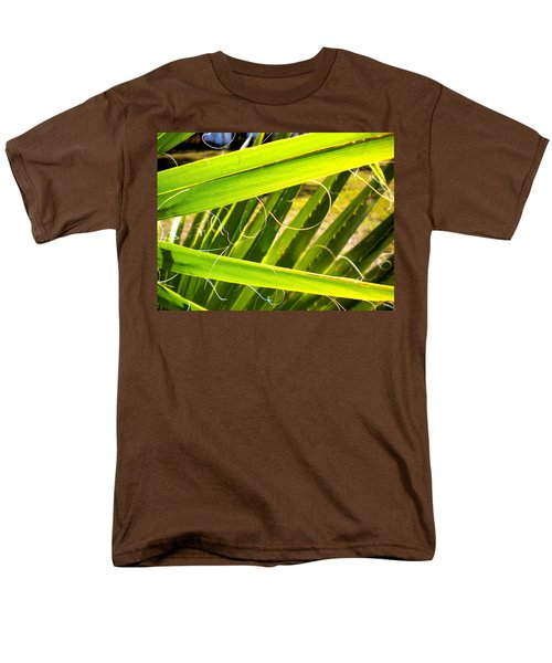 Men's T-Shirt  (Regular Fit) featuring the painting Palmetto 3 by Renate Nadi Wesley