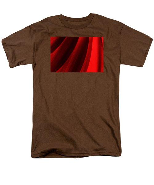 Red Chrysanthemum Dawn Rising Men's T-Shirt  (Regular Fit) by John Williams