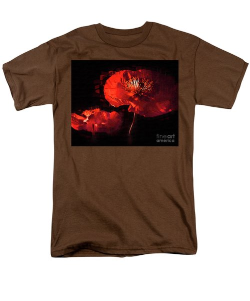Two Red Poppies Men's T-Shirt  (Regular Fit) by Kirt Tisdale