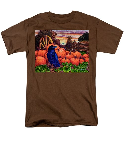 Men's T-Shirt  (Regular Fit) featuring the painting Scarecrow by Michael Frank