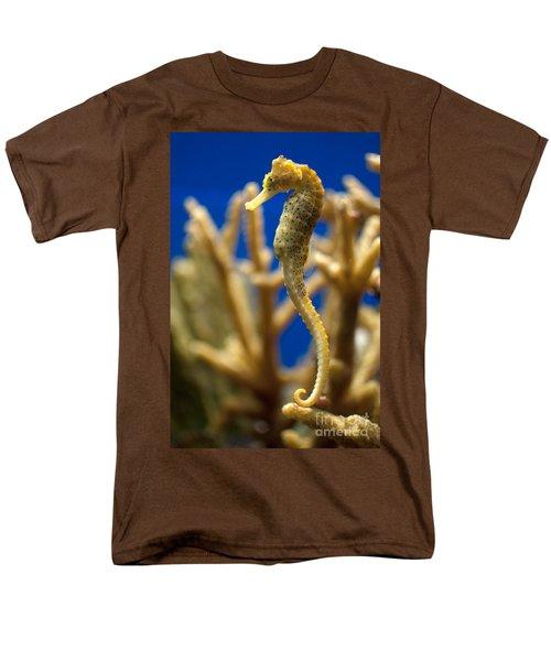 Sea Horses Men's T-Shirt  (Regular Fit) by Carol Ailles
