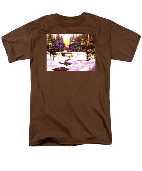 Men's T-Shirt  (Regular Fit) featuring the painting Seasonal  Change by Al Brown
