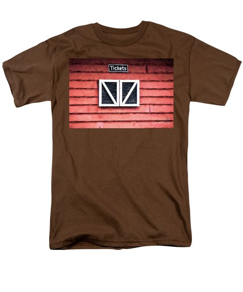 Men's T-Shirt  (Regular Fit) featuring the photograph Season's Over by Laurinda Bowling
