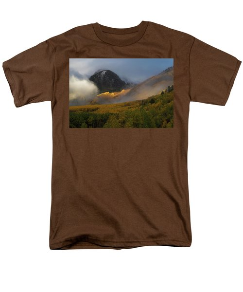 Men's T-Shirt  (Regular Fit) featuring the photograph Siever's Mountain by Steve Stuller